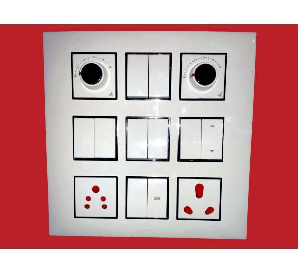 fybros modular plate 18 module