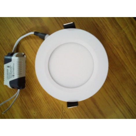 6 Watt LED Round Ceiling/POP/False Ceiling Panel Light Roof (Pack of 8+1) 6w
