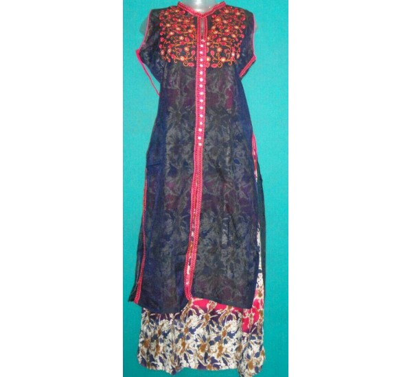New Collection Designer Gown Printed Kurti