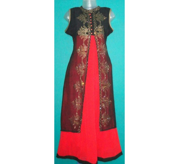 New collection designer gown kurti