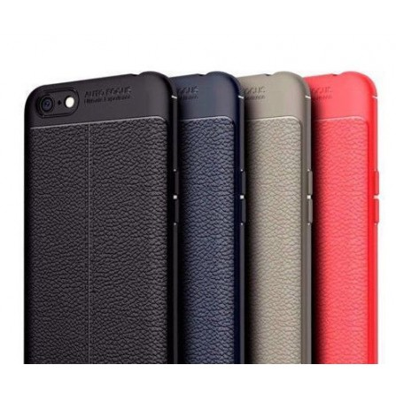 Autofocus Soft Silicone Leather Texture Back Cover Case For Lenovo K8 Plus