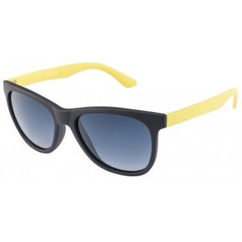 Vincent Chase Colorato 03 Black Yellow Wayfarer Sunglasses