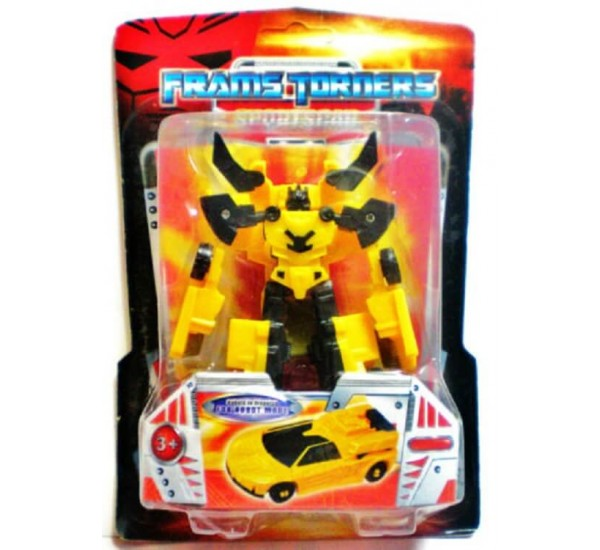 TRANSFORMER THE ROBOT TOY CHANGES FROM ROBOT TO SPORTS RACING CAR KID GIFT